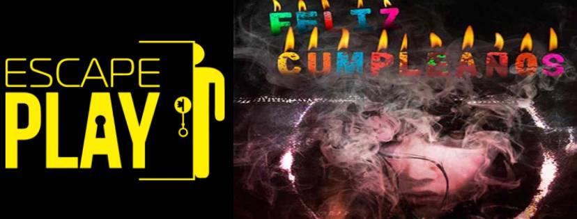 """Portada de """"Feliz cumpleaños"""" de Escape Play (Murcia)"""