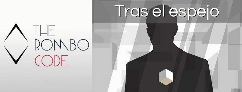 Portada de «Tras el espejo» de The Rombo Code (Madrid)