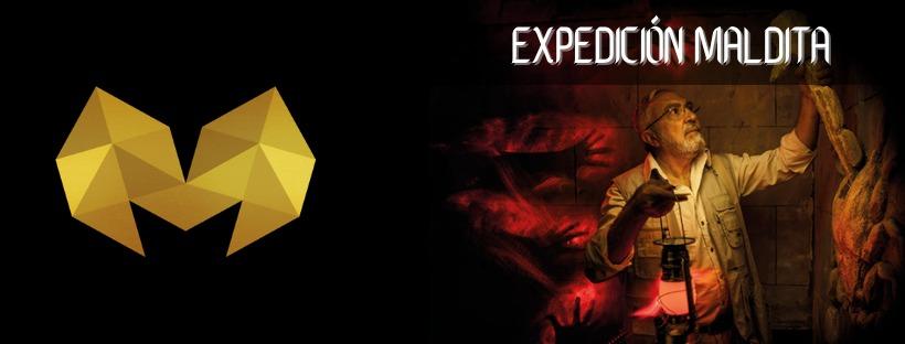 Cabecera Expedición maldita Mythos escape room