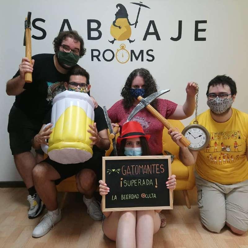 Foto de «La beerdad oculta» de Sabotaje Escape Room (Elche)