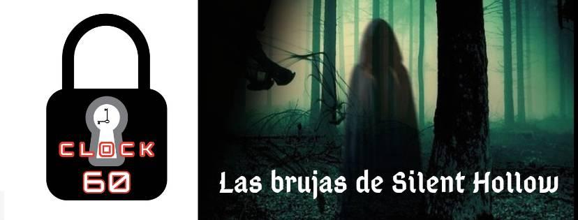 Portada de «Las brujas de Silent Hollow» de Clock60 (Móstoles)