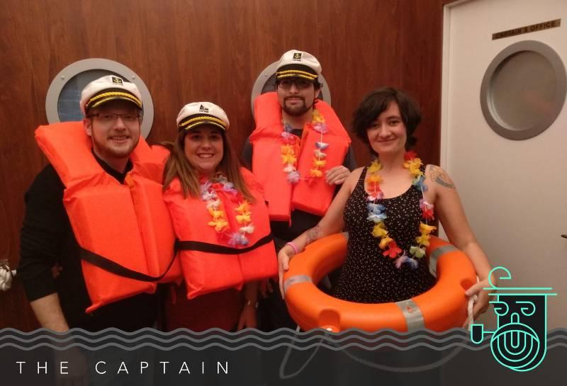 Foto de «The captain» de 59:59 Escape (Madrid)