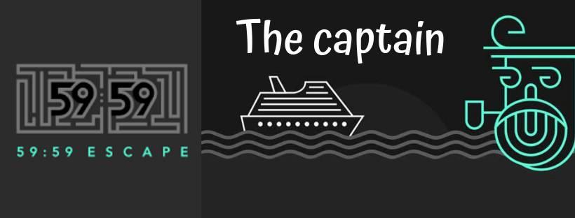 Portada de «The captain» de 59:59 Escape (Madrid)