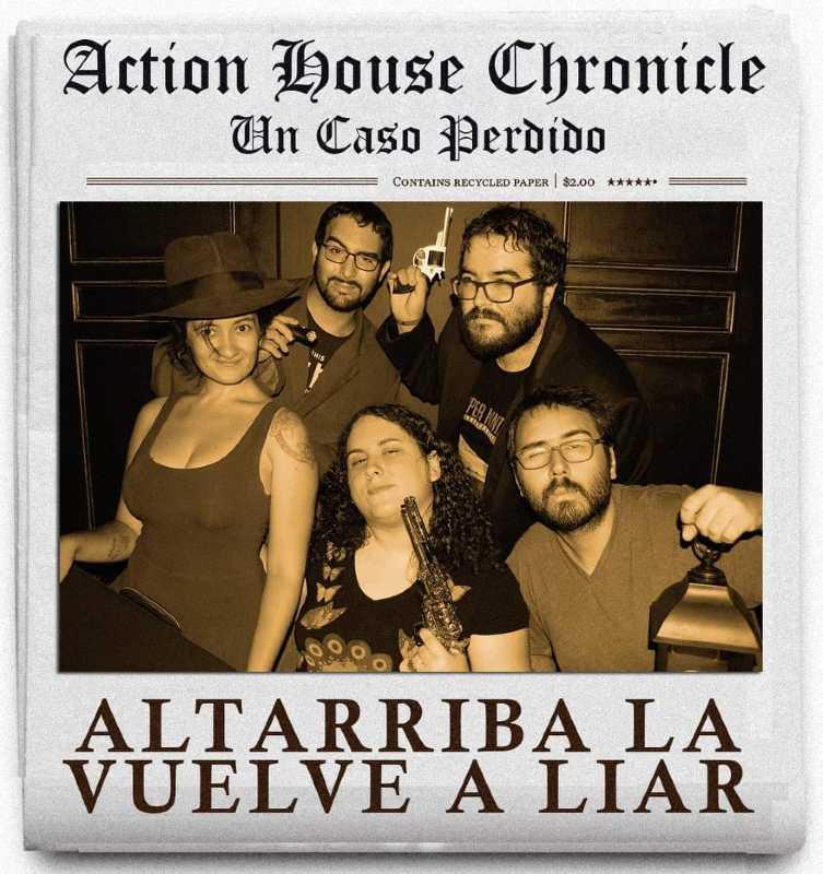 «Un caso perdido» (nueva versión: «más perdido que nunca») de Action House (Madrid)