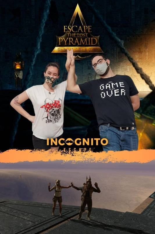 Foto de «Escape the lost pyramid» VR de Incógnito (Madrid)