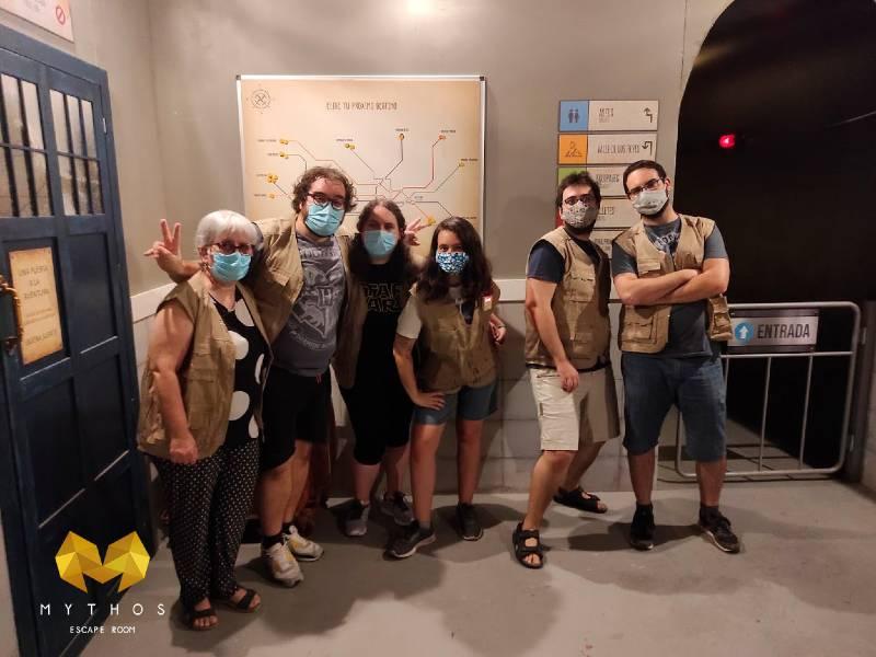 Foto de «Expedición maldita» de Mythos Escape Room Murcia (El Palmar)