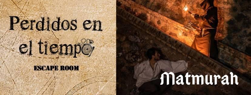 """Portada de """"Matmurah"""" de Perdidos en el tiempo (Murcia)"""