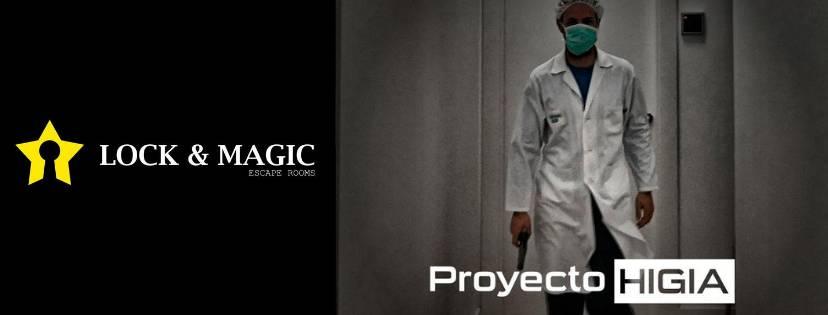 Portada de «Proyecto Higia» de Lock & Magic (Ibi)