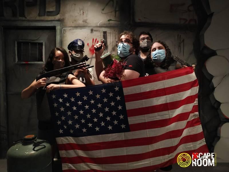 «Resident Virus X» de Xcape room (Finestrat)