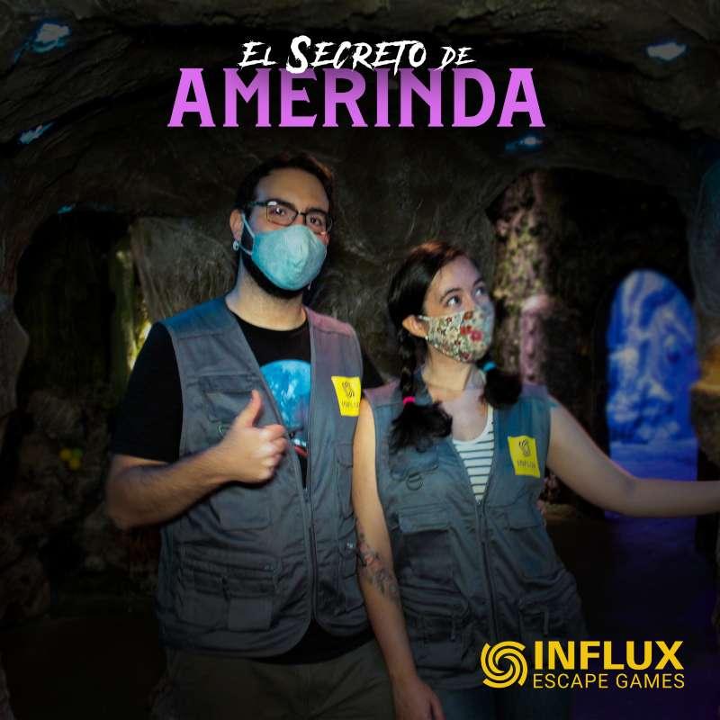 «El secreto de Amerinda» de Influx Escape Games (Madrid)