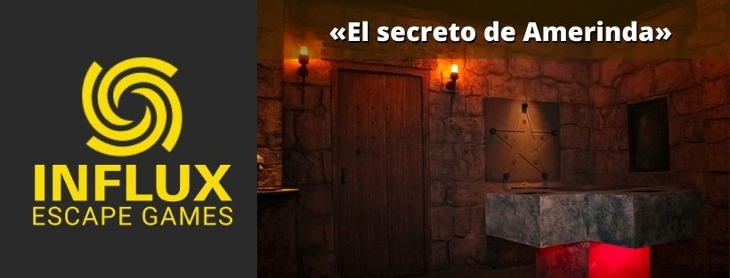 «El secreto de Amerinda» de Influx Escape Games (Madrid)