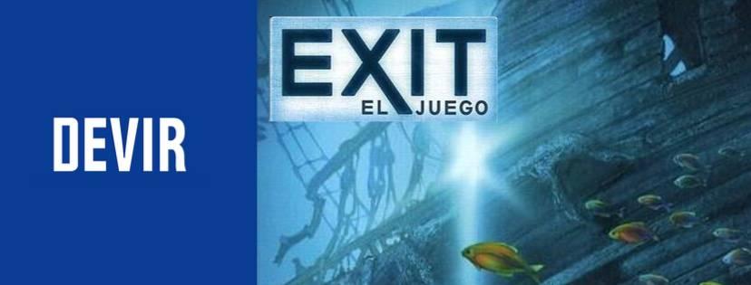 «El tesoro hundido» de Exit El juego / Devir