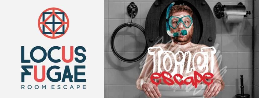 Portada de «Toilet Escape» de Locus Fugae (Alicante)
