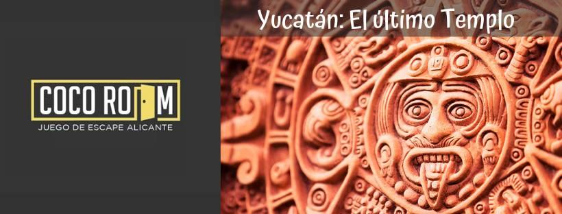 Portada de «Yucatán: El último Templo» de Coco Room (Alicante)