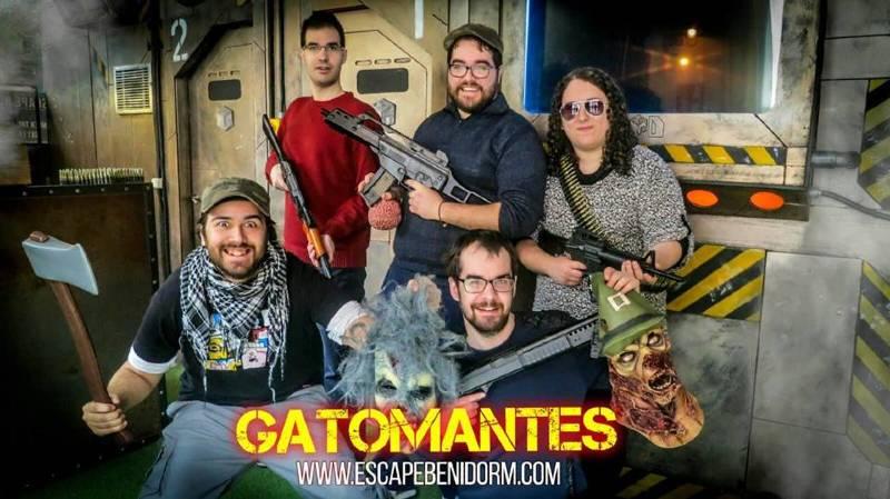 Foto de «Zombies» de Lockdown Escape Room (Benidorm)