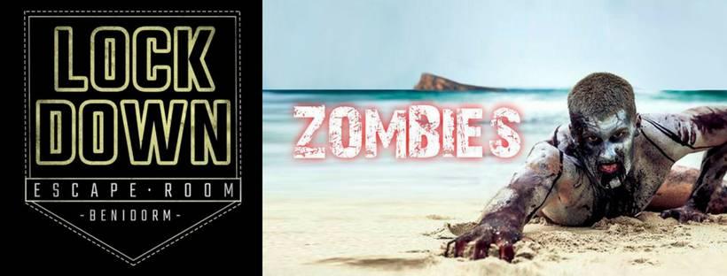 Portada de «Zombies» de Lockdown Escape Room (Benidorm)