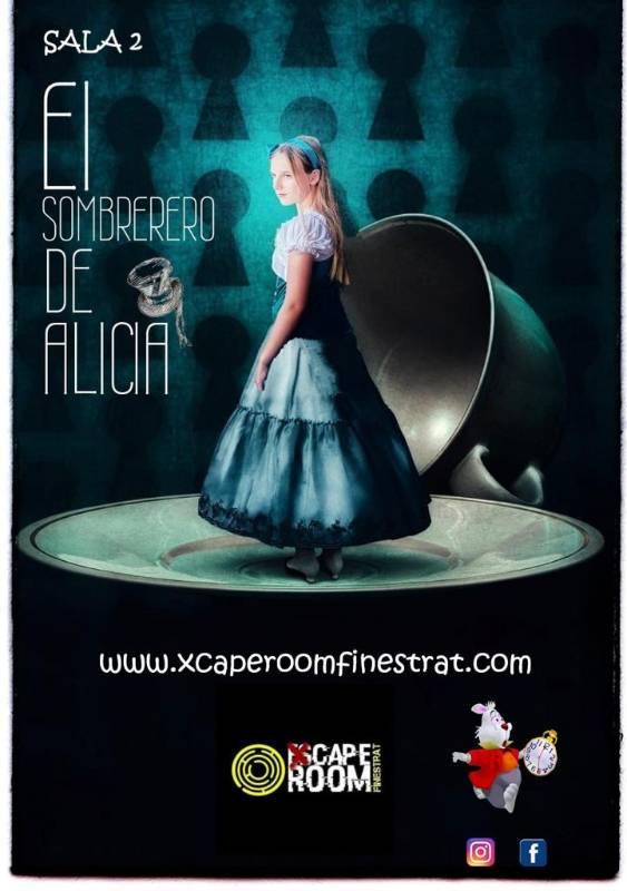 Apertura Sombrerero de Alicia Xcape room Finestrat