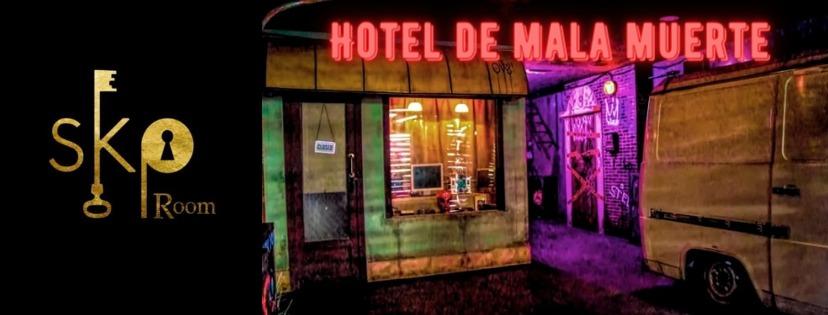 Portada Hotel de mala muerte SKP room