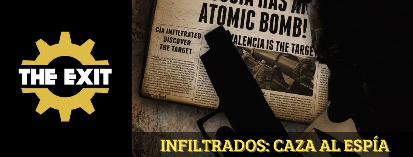 «Infiltrados: caza al espía» de The Exit (Valencia)