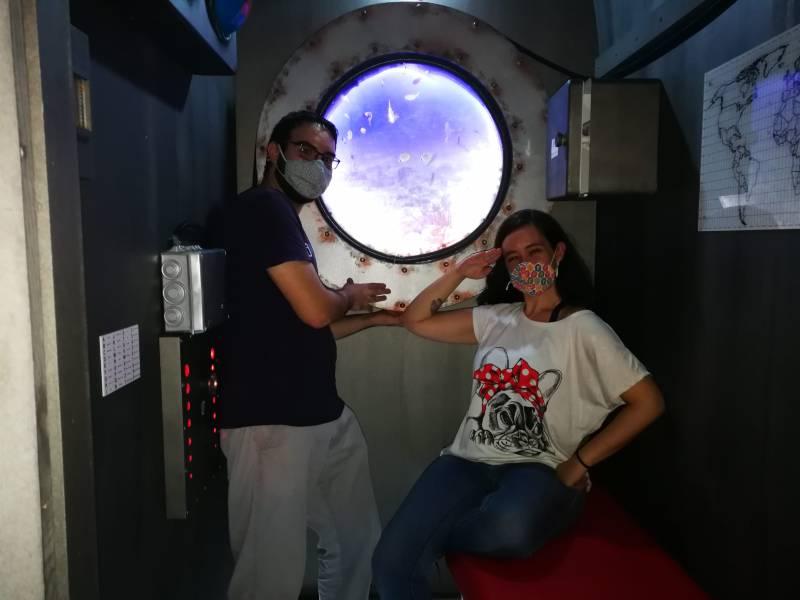 «Grey submarine» de Escape room Materia Gris (Alcorcón)