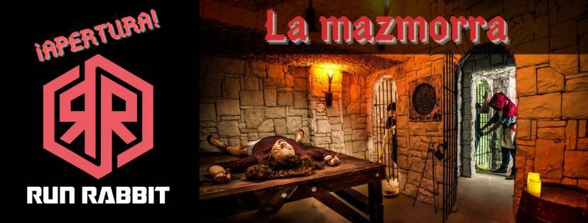 ¡Apertura! – «La mazmorra» de Run Rabbit Escape Room (Valencia)