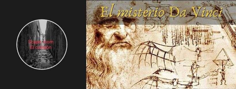 Portada de «El misterio Da Vinci» de Escape Room El Callejón (Novelda)