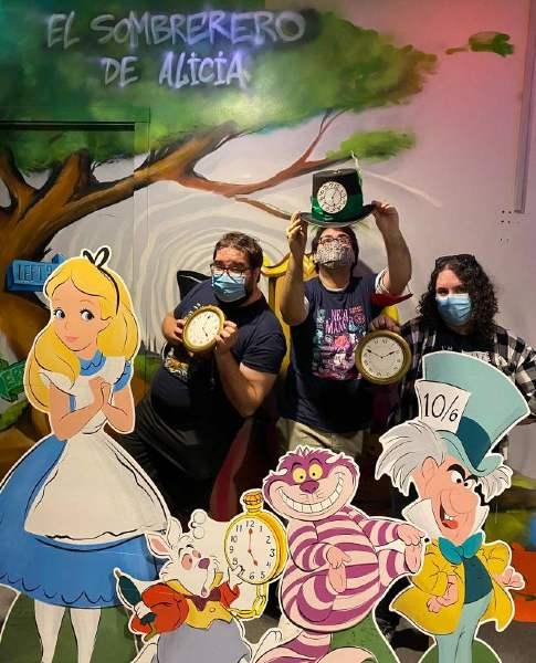 Foto de «El sombrerero de Alicia» de Xcape Room Finestrat
