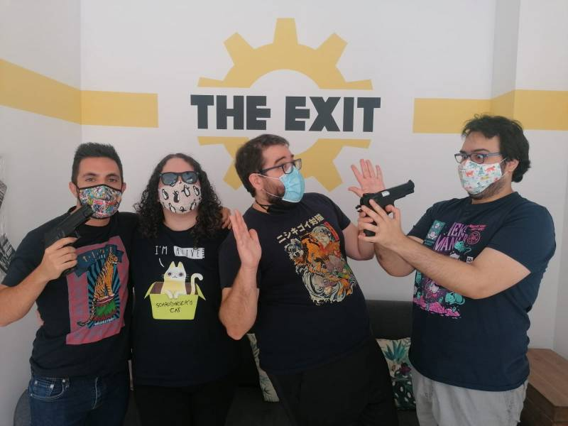 """Infiltrados: caza al espía"" de The Exit Valencia"