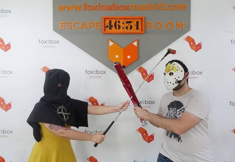 Foto de «Asesino del zodiaco» de Fox in a Box (Madrid)