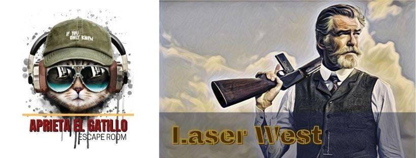 Portada de «Laser West» de Aprieta el Gatillo (Madrid)
