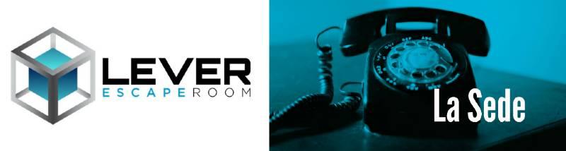 Portada de «La sede» de Lever Escape Room (Madrid)