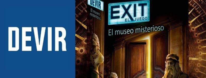 «Exit 10: El museo misterioso» de Devir