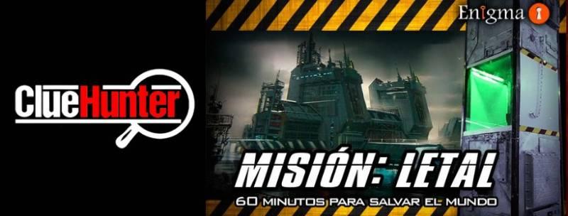 «Misión letal» de Clue Hunter (Valencia)