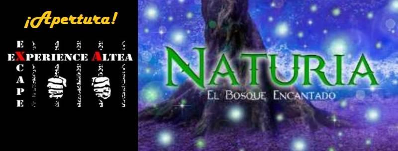 ¡Apertura! – «Naturia. El bosque encantado» de Excape Experience (Altea)