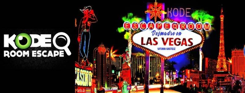 «Desmadre en las Vegas» de Kode Escape room (Vitoria)