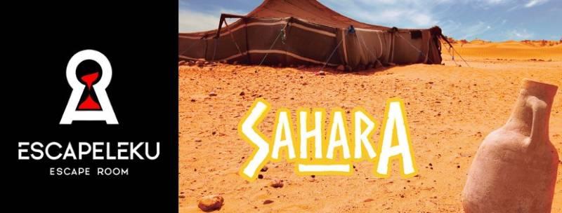 «Sáhara» de Escapeleku Escape room (Vitoria)