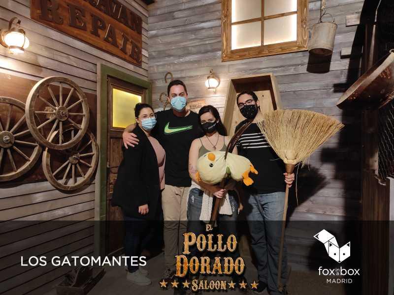 «El pollo dorado saloon» de Fox in a Box (Madrid)