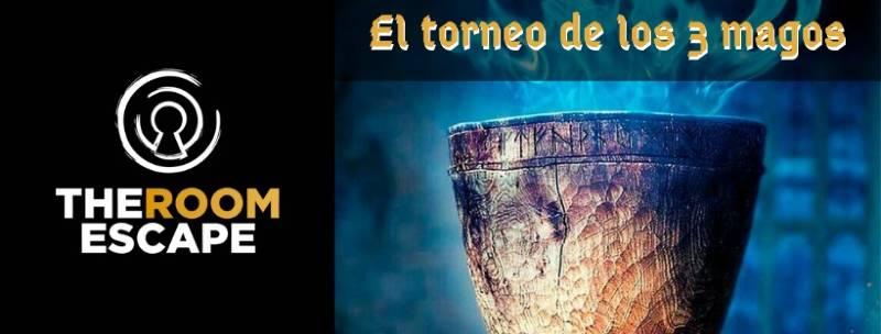 «El torneo de los tres magos» de The room escape (Madrid)